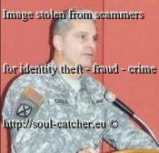 Maj. Gen. Anthony Cucolo (Retired) image abused by Scammers